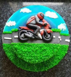 Motorbike cake, Vroom Vroom