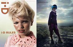The Daphne Groeneveld i-D Magazine Cover Shoot is Rustically Regal #pilgrim #fashion trendhunter.com