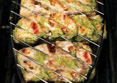 Green Shawarma Salmon - Bon Appétit