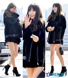 SNSD TaeYeon goes to Hong Kong for the 2016 MAMA