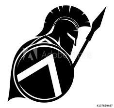 Spartan Shield, Spartan Logo, Spartan Warrior, Warrior Helmet, Shield Drawing, Helmet Drawing, Spartan Helmet Tattoo, Sparta Tattoo, Gladiator Tattoo