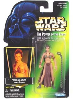 STAR WARS : Costumes and Toys : Star Wars Action Figure - Princess Leia Organa as Jabbas Prisoner - POTFG