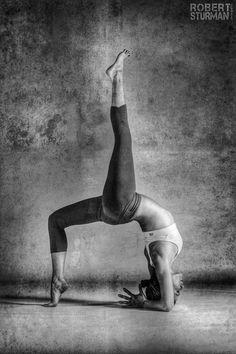 Advanced Bridge Pose with Single Leg Up