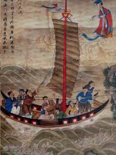 Chinese Sea Goddess Mazu - Protector of Fishermen & Sailors