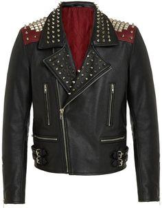 RADDAR7 - Punk Rock Leather Biker Jacket