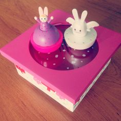 Music box for baby, Ange Lapin by Trousselier.