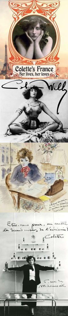 Colette (French: [kɔ.lɛt]) was the surname of the French novelist and performer Sidonie-Gabrielle Colette (28 January 1873 – 3 August 1954). She is best known for her novel Gigi, upon which Lerner and Loewe based the stage and film musical comedies of the same title.
