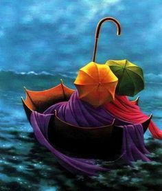 We are professional Claude Theberge supplier and manufacturer in China.We can produce Claude Theberge according to your requirements.More types of Claude Theberge wanted,please contact us right now! Umbrella Art, Under My Umbrella, Drawing Umbrella, Umbrella Painting, Singing In The Rain, Over The Rainbow, Rainbow Colors, All The Colors, Rich Colors