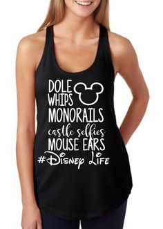 Check out this item in my Etsy shop https://www.etsy.com/listing/492555635/disney-life-disney-shirts-for-women
