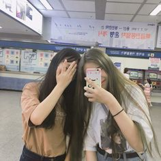 Best Friend Couples, Best Friend Pictures, Bff Pictures, Friends Moments, Friends Forever, Bff Goals, Best Friend Goals, Ulzzang Couple, Ulzzang Girl