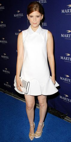 Comments (1) Series:  What Was She Wearing  General:  celebrity style  Brands/Designers:  Viktor & Rolf, Rebecca Minkoff, Charlotte Olympia, Theory, Via Spiga  Celebrities:  Kate Mara  By: Nicole Kliest Published: 10/13/2013 Comments (1) Comments  Kate Mara   The designers behind the actress' winter white look? We have the answer!   Viktor & Rolf dress from the Resort 14 collection