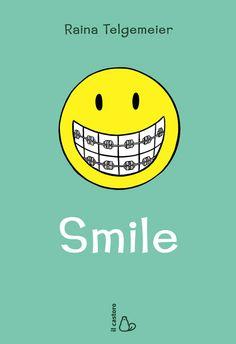 """Smile - da 11 anni-Irresistibile, divertente e toccante. Una lettura imperdibile per tutte le ragazzine, con o senza apparecchio ai denti."""" – Kirkus Review """"Un libro che colpisce nel segno. Assolutamente unico e originale"""" – The New York Times  Scuola media. La famiglia, gli amici, i ragazzi e… l'apparecchio ai denti?! La storia di Raina comincia da qui: da una rovinosa caduta sull'asfalto e da due incisivi spezzati. Per rimediare al danno, Raina dovrà rassegnarsi a una serie di apparecchi…"""