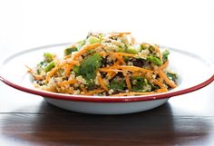 easyquinoasaladveganblackbean 7401   Cumin Lime Black Bean Quinoa Salad (quick + easy!)
