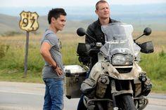 Strike Back Legacy - Stonebridge & Finn Flippin COOL bike! L Philip Winchester