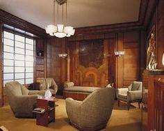 Deco interior & 244 best Art Deco Interiors images on Pinterest | Art deco art Art ...