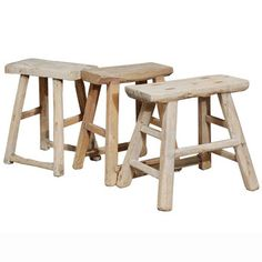 Flat Top Stools #Chinese