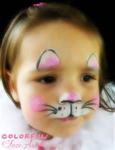 A brilliant Easter Bunny face paint idea here - face painting is an easy fundrai. - A brilliant Easter Bunny face paint idea here – face painting is an easy fundraiser especially if - Mouse Face Paint, Bunny Face Paint, Easter Face Paint, Cat Face Paint Easy, Easy Face Painting Designs, Simple Face Painting, Face Painting For Kids, Face Painting Halloween Kids, Face Painting Tutorials