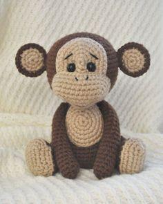 modello della scimmia amigurumi cattivo libero