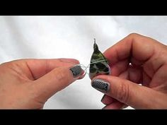 ▶ Tatting - Another Way to Cover a Ring - YouTube