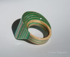 """Handmade Ring named """"Arielle"""" Handmade Jewelry, Jewellery, Wood, Rings, Jewerly, Jewels, Jewelry Shop, Woodwind Instrument, Ring"""