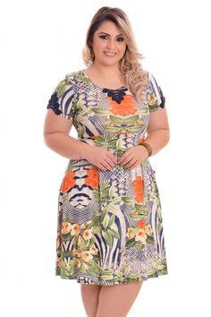 Vestido Belinda Plus Size