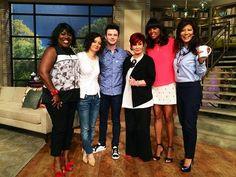 @TheTalk_CBS .chriscolfer come back soon (& bring Brian the cat!) #TLOS3 #Glee #TheTalk