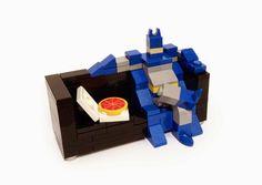    Lego bat couch