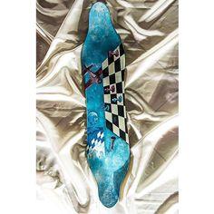 Longboard #art #longboard #handcraft #wood #skateboard #battle #colours #surf #modern #handmade #chess