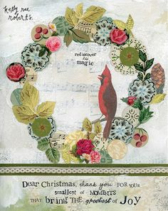 """Are you guys in the spirit yet? I'm in it earlier than ever before! Introducing my favorite new holiday image. Had SO MUCH FUN creating this one! It reads, """"Dear Christmas, thank you for the smallest of moments that bring the greatest of joy."""""""