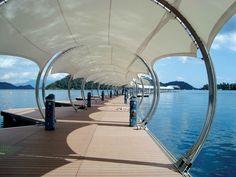 Adaptable awnings. Photo: Shades (Thailand) Co Ltd.