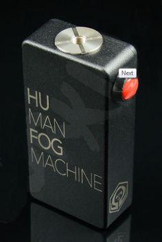 Hu Man Fog Machine Hex Ohm 110 watt E-cigarette Box Mod. Visit Goldstarvapes.com for all of your Hex Ohm e-cigarette mod sales and authentic mechanical mods