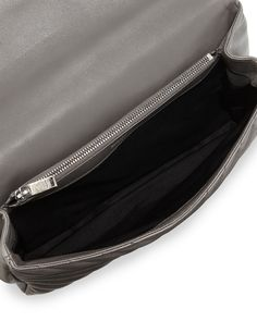 huge hand bags - Yves Saint Laurent Monogram Medium Fringe Pouch Bag, Black Multi ...