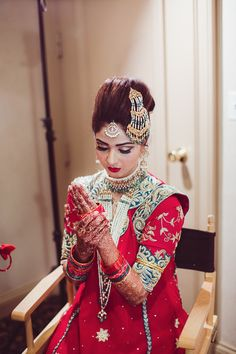 Another stunning Hyderabadi Bride! | Photo by Sami Takieddin