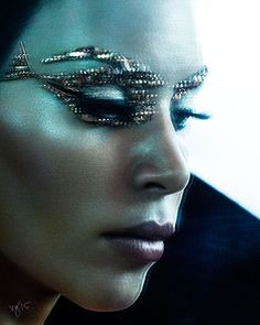 THE GENIUS OF PAT MCGRATH featuring Kim Kardashian West for THE VIOLET FILES @violetgrey | #NoOrdinaryWoman #PATxKIM photographed by BEN HASSETT