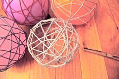 Bolas de lana DIY