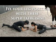 Fix Your Leg Position With These Super Exercises - Dressage Mastery TV Ep 150 - YouTube