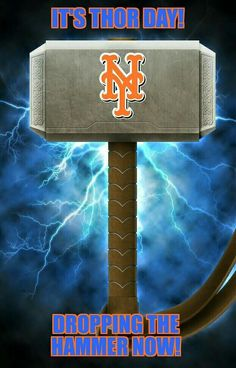 NY Mets Thor day