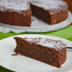 Torta Caprese (chocoladetaart uit Capri)
