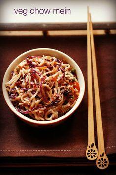 veg chow mein recipe