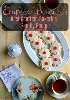 Empire Biscuits Recipe + Best Scottish Bakeries | Foodie Travel in Scotland | Wandering Gaels