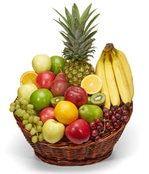 Cesta de Frutas Premium da From You Flowers - New Site All Fruits, Variety Of Fruits, Fruits And Vegetables, Mixed Fruit, Fresh Fruit, Mango Fruit, Juicy Fruit, Fruit Basket Delivery, Bolo Barbie