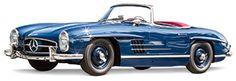 Original Rudge Wheel Example  1957 Mercedes-Benz 300 SL Roadster