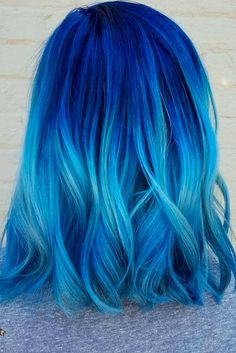 Blue Ombre Hair Fabulous Styles for Daring Women ★ See more: http://lovehairstyles.com/stunning-blue-ombre-hair/