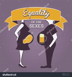 """Gender Equality Illustration - """"Equality Of The Sexes&quot…"""