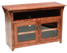 OD O M641 and OD O M641 H Mission Oak Desk and Return with Hutch