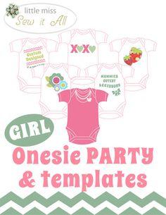 DIY Onesie Party!