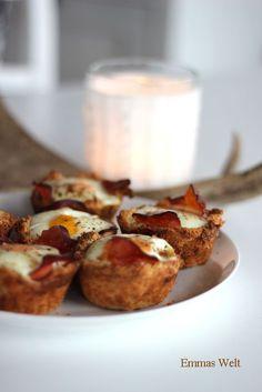 Toast-Schinken-Ei-Muffins