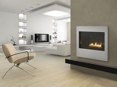 contempory design photos | Contemporary fireplace design sale modern fireplaces…