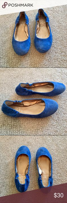 BCBG Generation Royal Blue Flats BCBG Generation royal blue flats! Worn a handful of times, and in good used condition. Such a pretty color! BCBGeneration Shoes Flats & Loafers