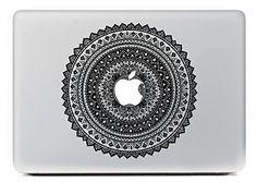 """NetsPower® Colorful modello Vinyl Decal Sticker Adesivo Adesivi Power-up Art Nero per Apple MacBook Pro/Air 13"""" 15"""": Amazon.it: Elettronica"""